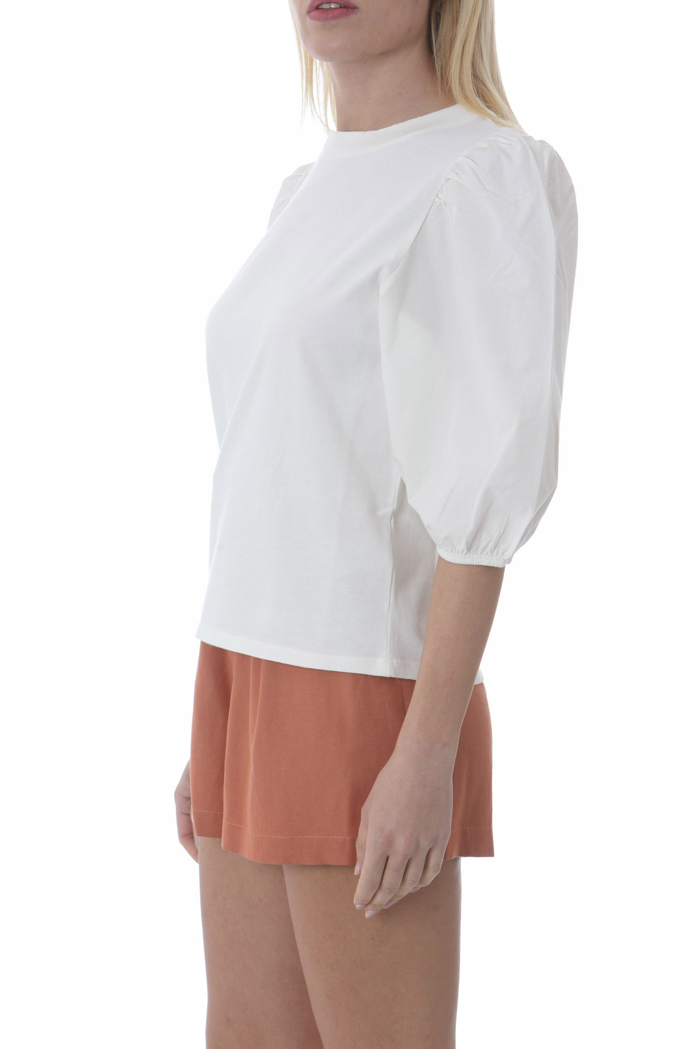 T-shirt donna manche a palloncino ATTIC AND BARN | T- Shirt | ATTS003-AT180200