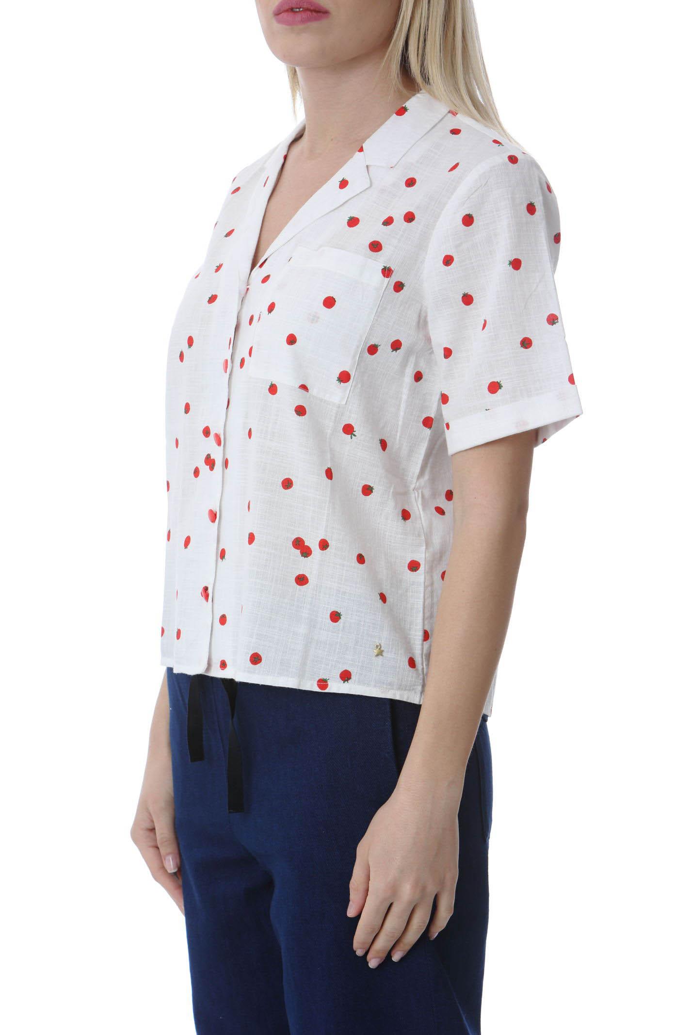 Camicia donna stampa Tomato DES PETIT HAUTS | Camicie | SOFIA-1E210443IM689