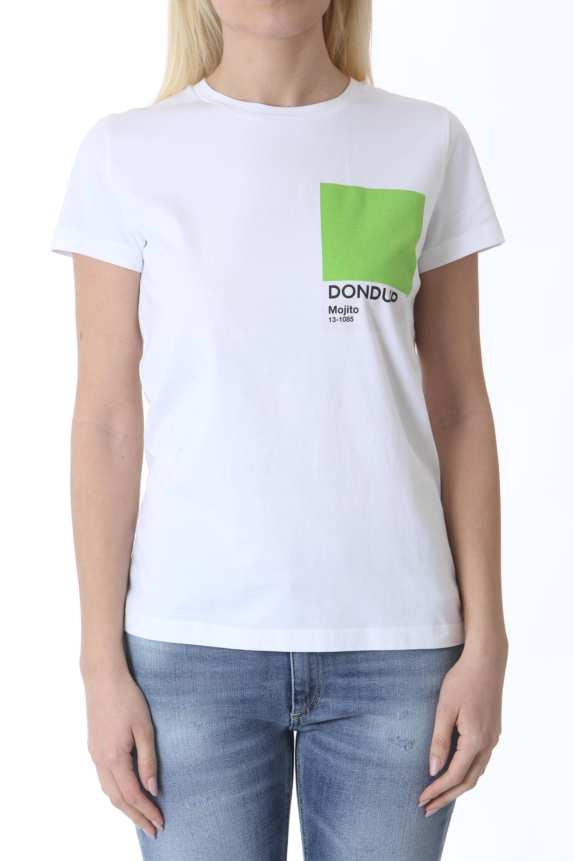 T-SHIRT SLIM GIROCOLLO DON DUP | T- Shirt | S856JF0284DBH6000