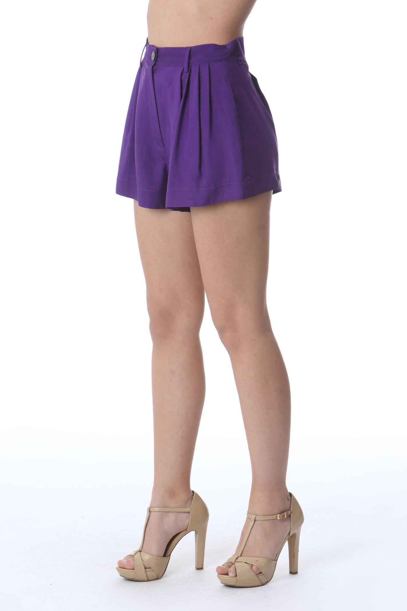 SHORTS IN VISCOSA FORTE FORTE | Shorts | 8219MYPANTSVIOLA