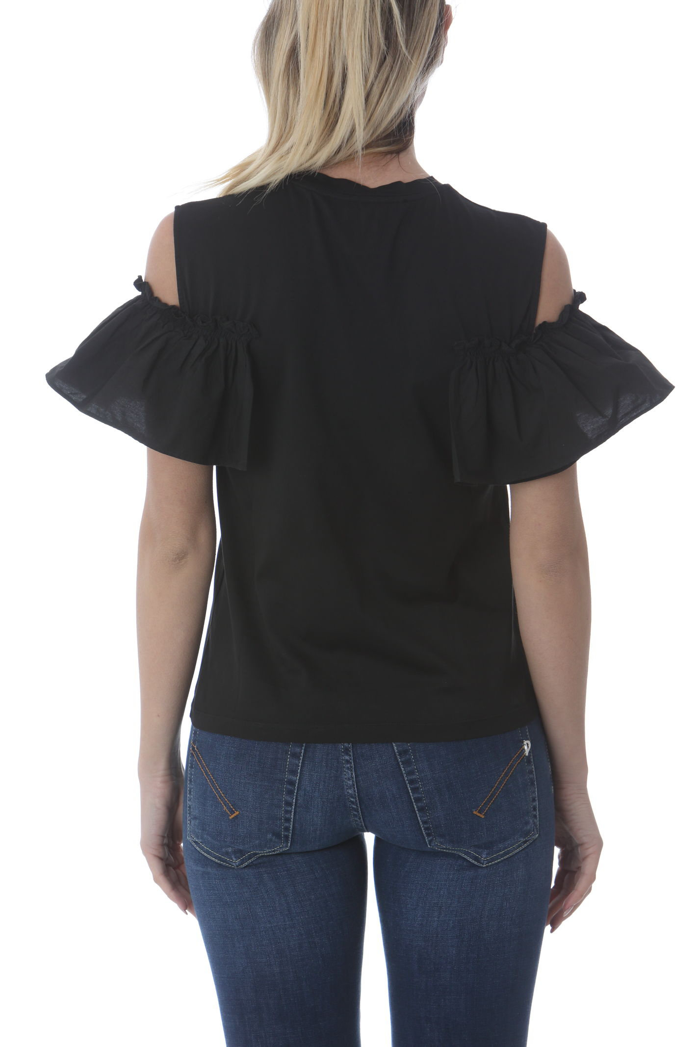 T-SHIRT CON ROUCHE JUCCA | T- Shirt | J3318009003