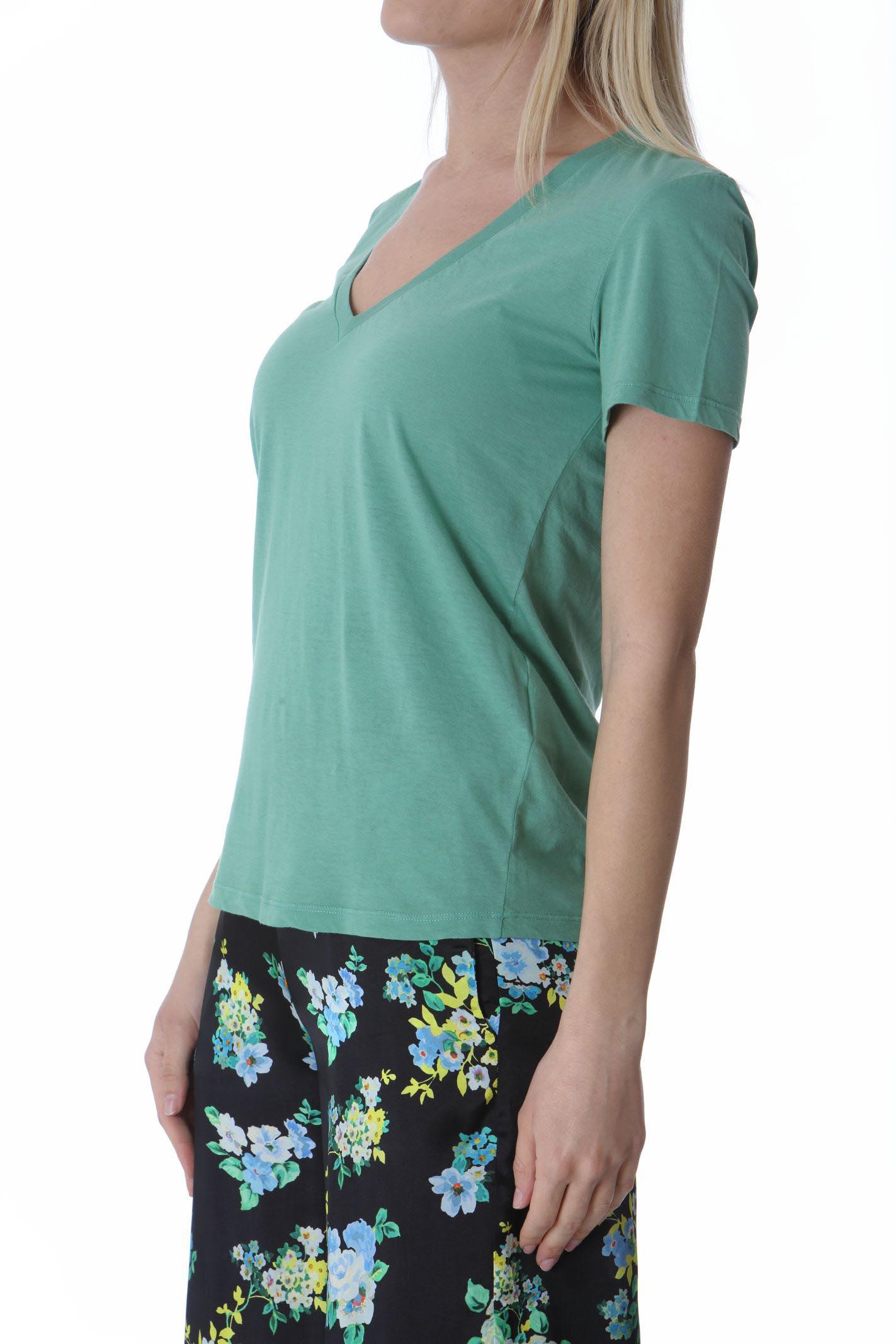 T-shirt donna scollo a v JUCCA | T- Shirt | J3318106314