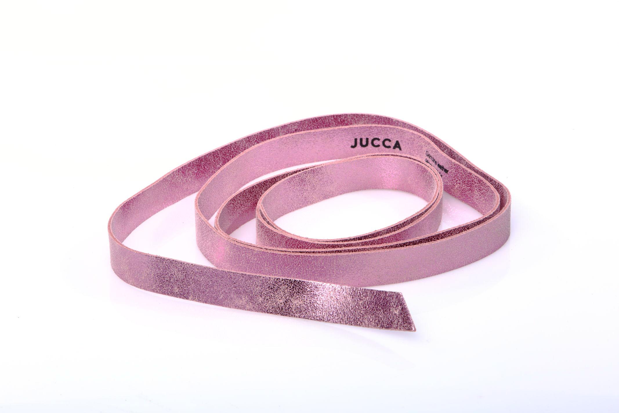 CINTURA CON NASTRO PELLE JUCCA | Cinture | J33190021701