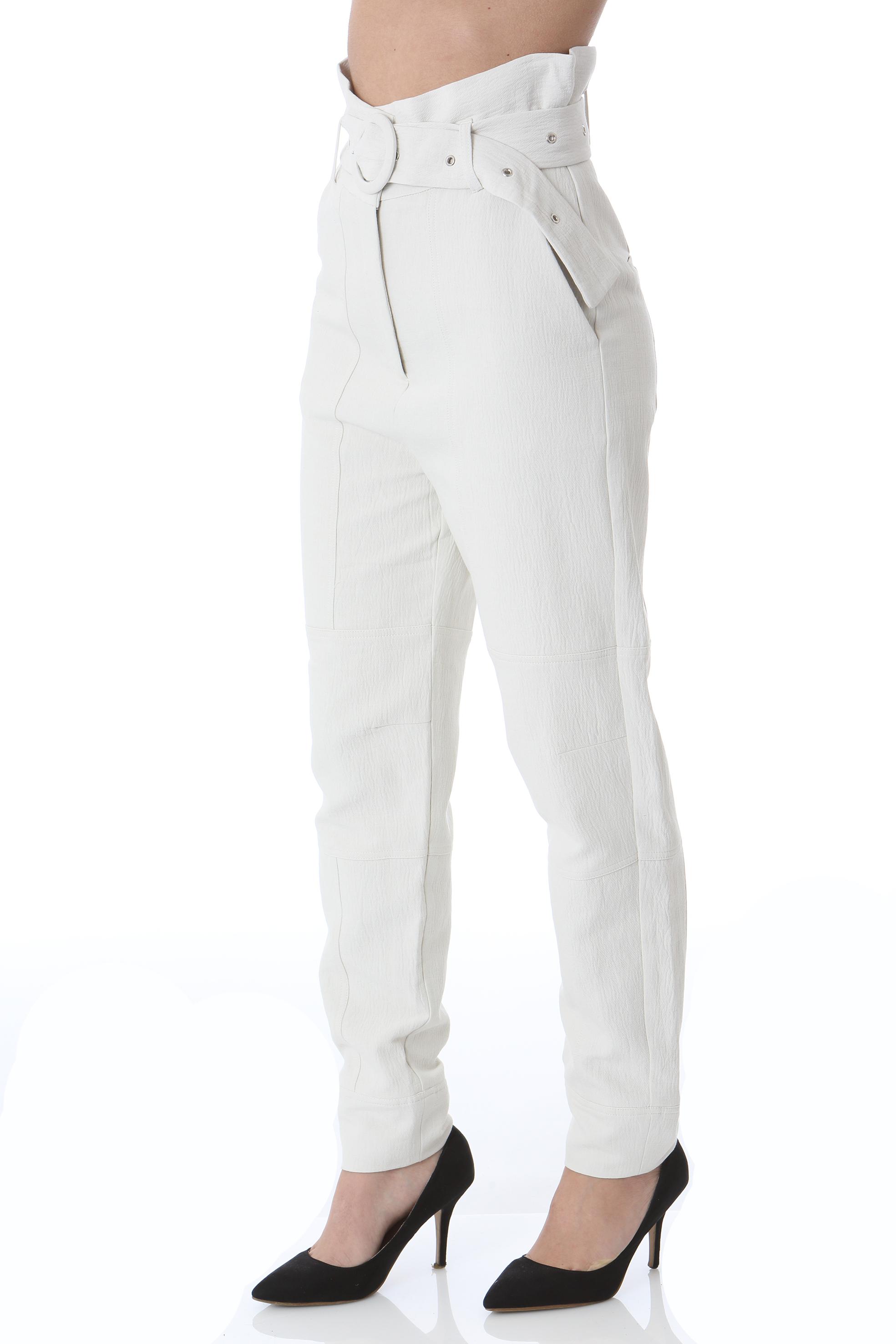 Pantalone donna vita alta con cintura LES COYOTES DE PARIS | Pantaloni | NADUA-214-30-048118