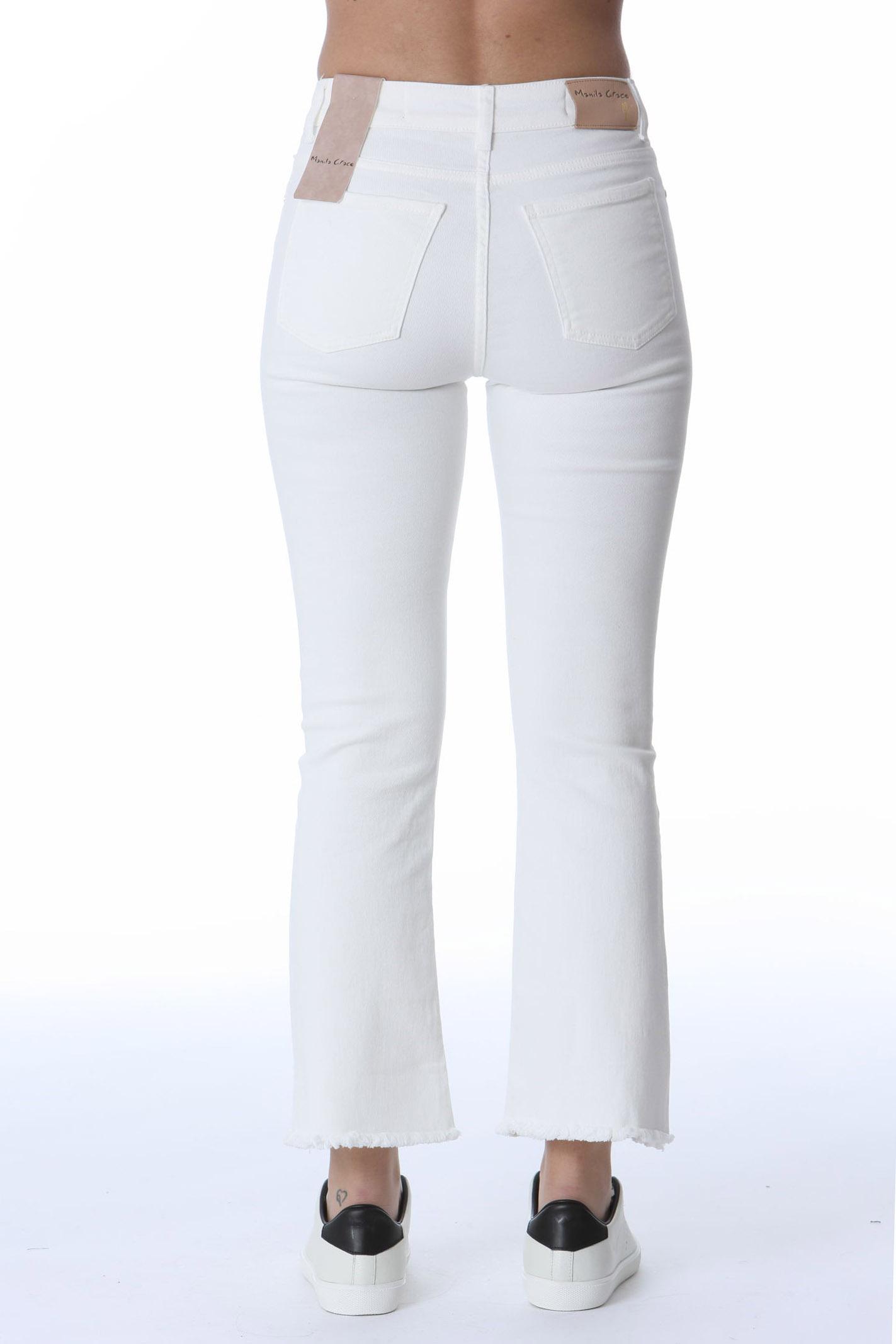 Jeans a trombetta con taglio vivo MANILA GRACE | Pantaloni | J400CUMZ004