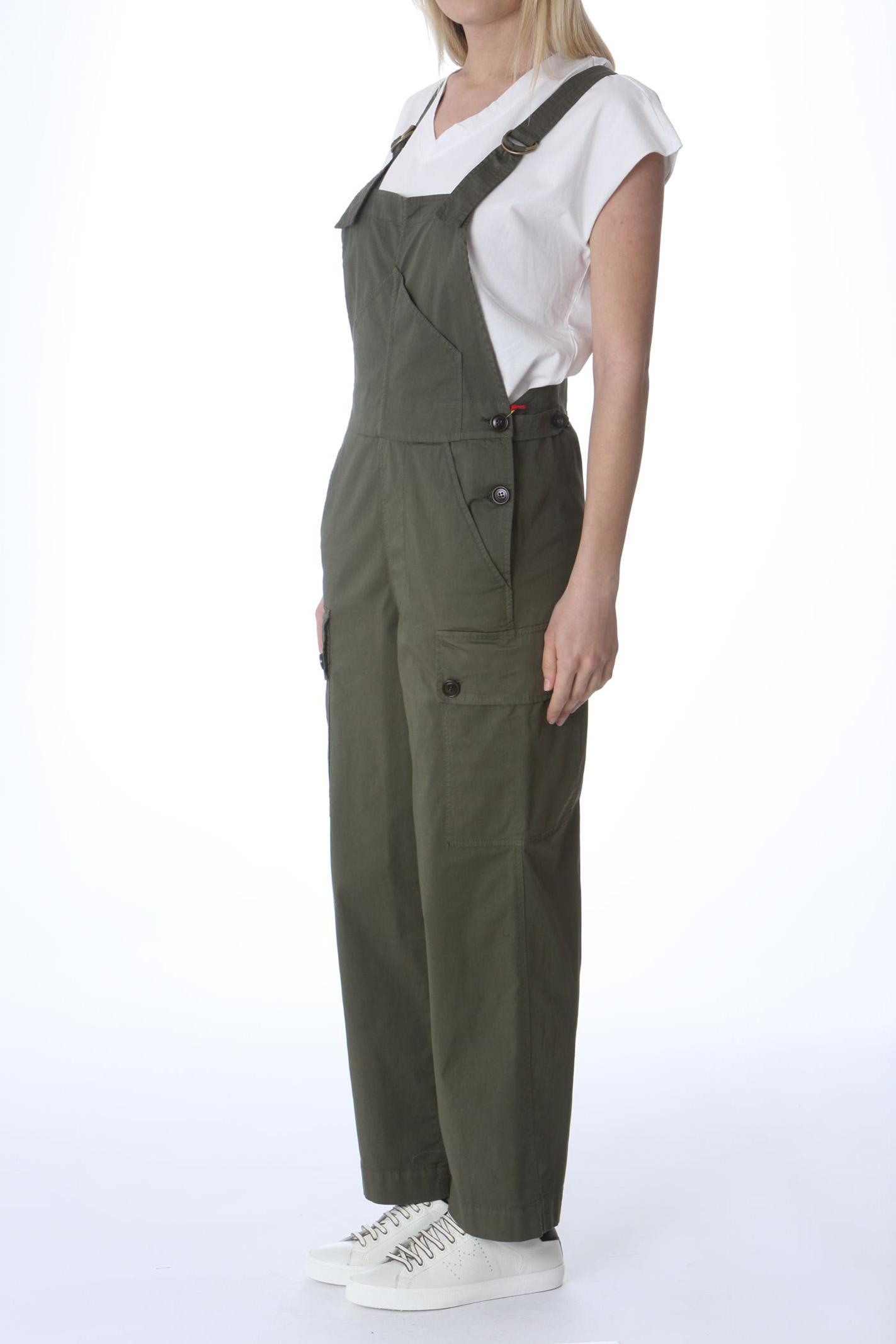 Saloipette donna in cotone elasticizzato SEMI COUTURE | Salopette | Y1SO08S85-0