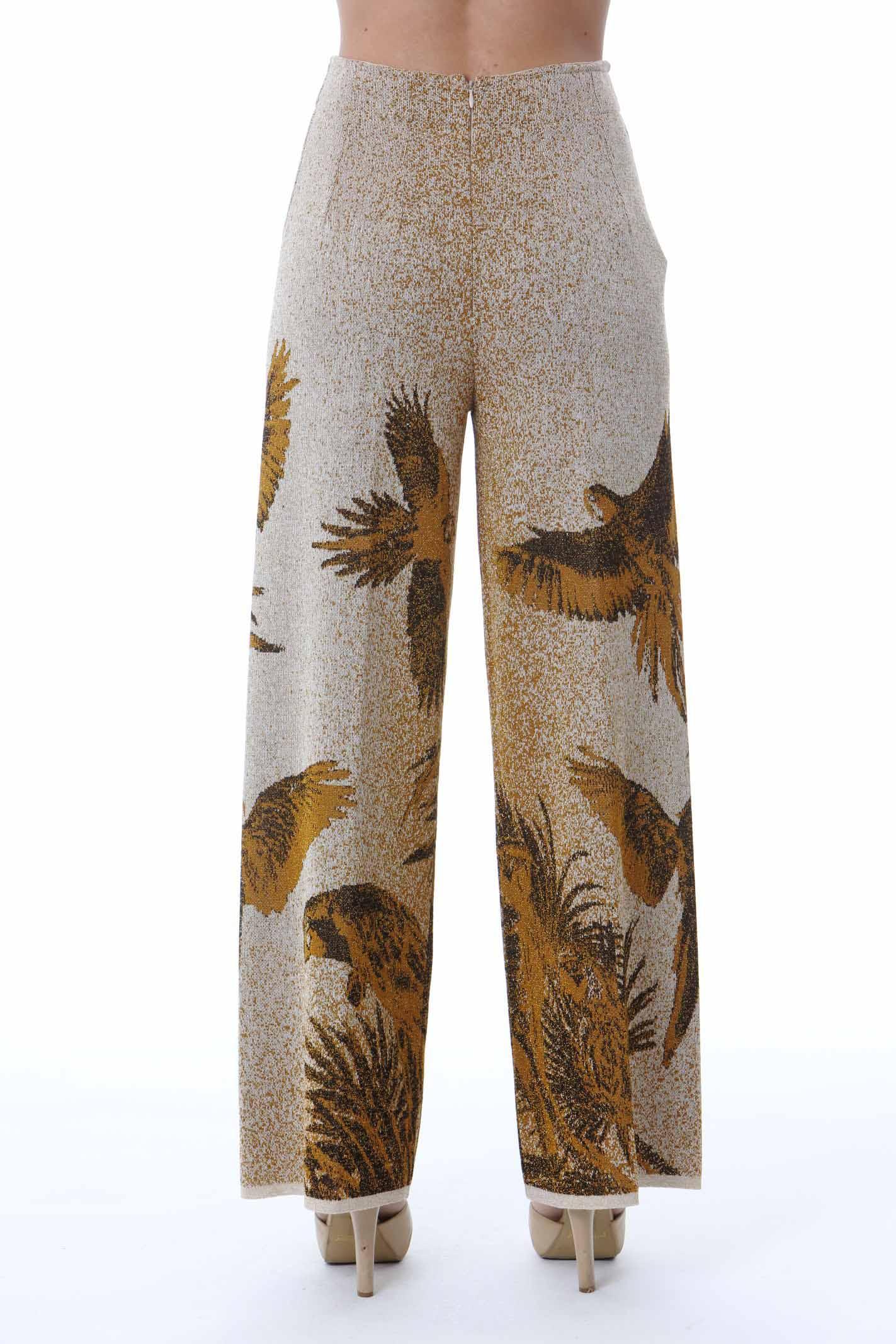 LONG PANTS PAPPAGALLI VIKI-AND | Pantaloni | 201/0-PAPPAGALLIGOLD