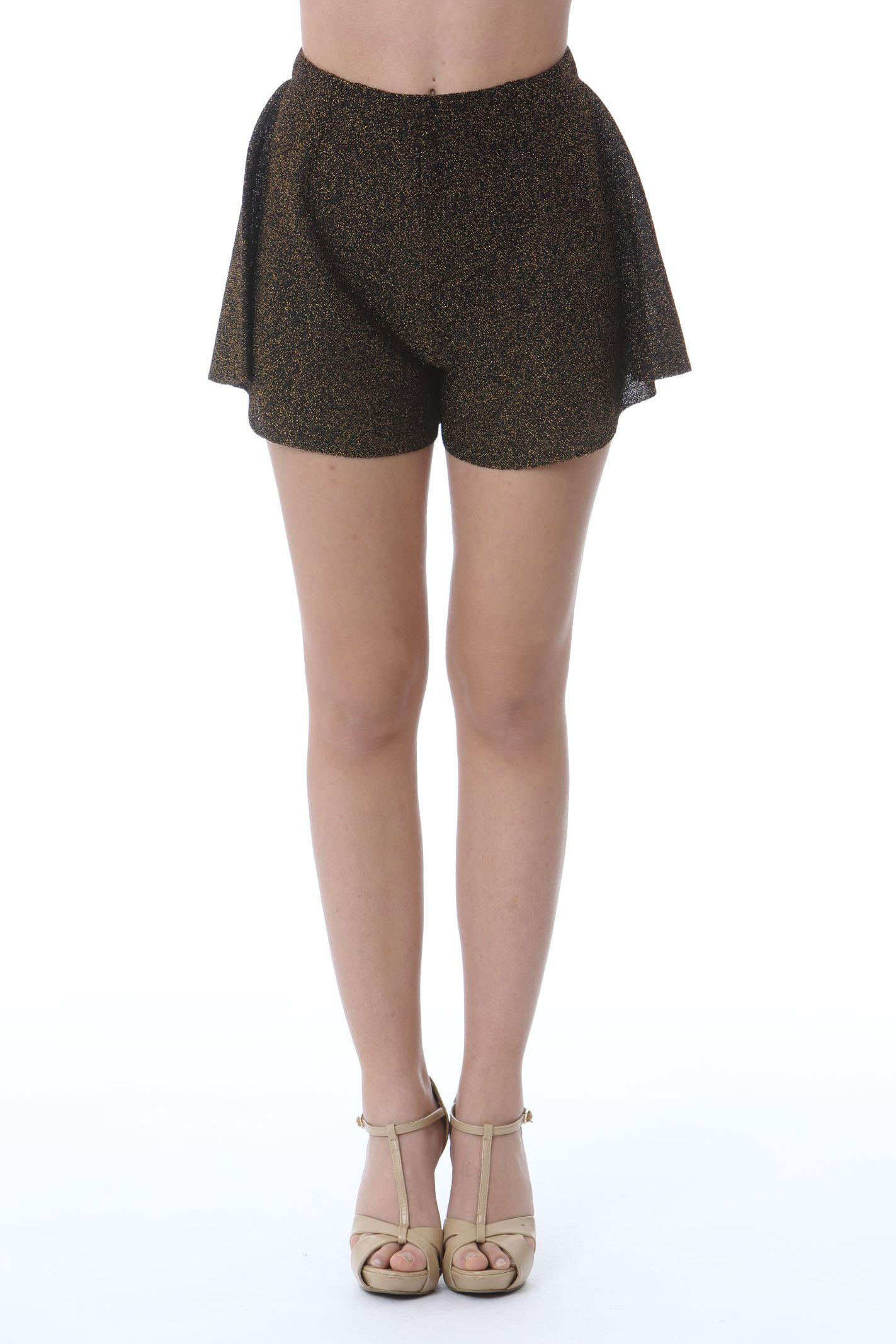 Shorts donna vita alta VIKI-AND | Shorts | 302/0-COMETEBLACK/GOLD