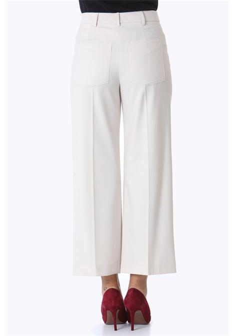 Pantalone donna gabardina dritto ALYSI | Pantaloni | 151120-A1047BURRO