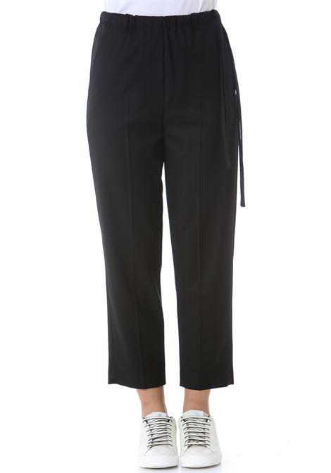 Pantalone donna gabardinaa sigaretta ALYSI | Pantaloni | 151123-A1047NE