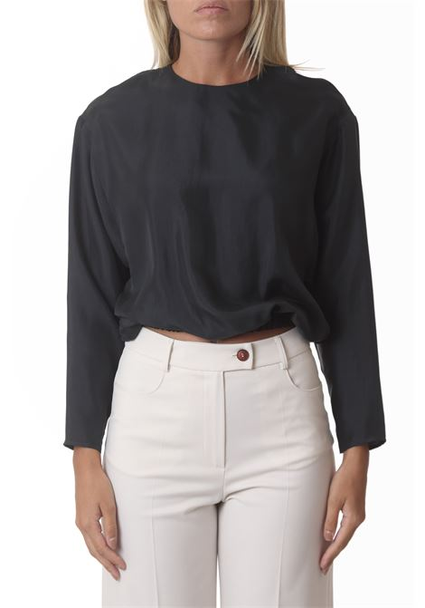 Blusa donna soft washed twill manche lunghe ALYSI | Bluse | 151203-A1054IC