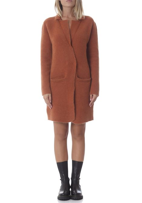 Cappotto in maglia donna super kid mohair ALYSI | Cappotti | 251904-A1222CN