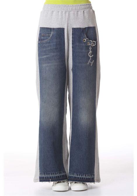 Jeans donna con inserti in felpa CIRCUS HOTEL   Jeans   H1WY05CH035