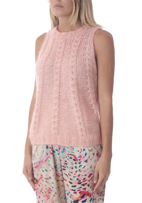 Maglia donna in mohair DAWNXDARE   Maglie   GIN322-213BABY PINK