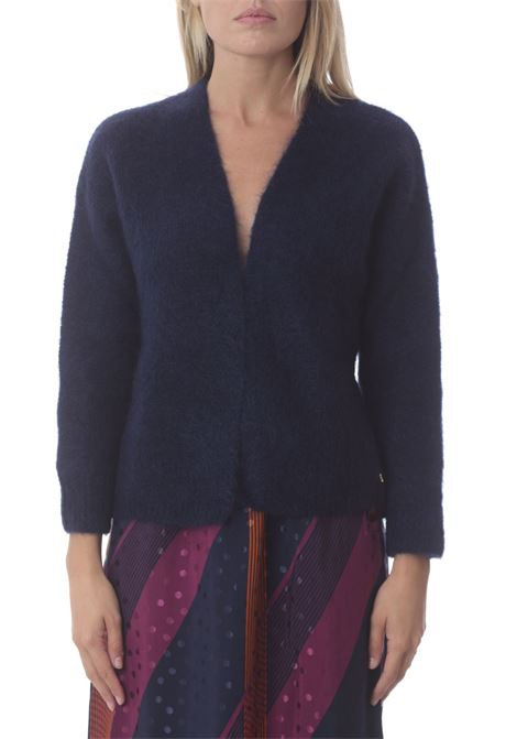 Cardigan donna DES PETIT HAUTS | Maglie | BRUNEL-1H210070MARINE