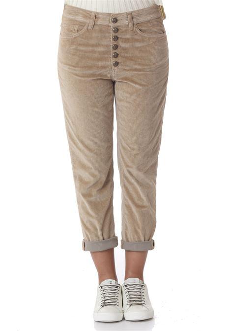 Pantalone donna Koons gioiello DON DUP | Pantaloni | DP268BVS0024PTD040