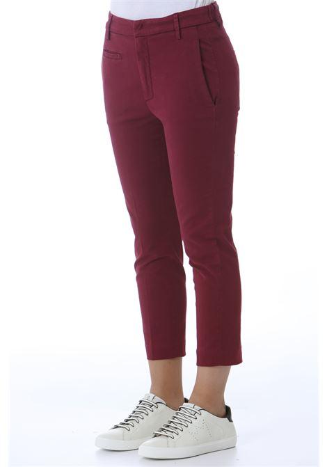 Pantalone donna Ariel DON DUP | Pantaloni | DP475GS0049BM5530