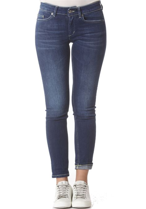Pantalone donna Monroe DON DUP | Jeans | P692DS0286BS3800