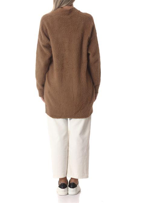Cardigan lungo donna in maglia GRIFONI | Maglie | GL210002/60214