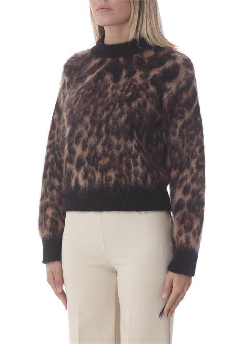 Lupetto donna in maglia maculato JUCCA | Maglie | J3411079003