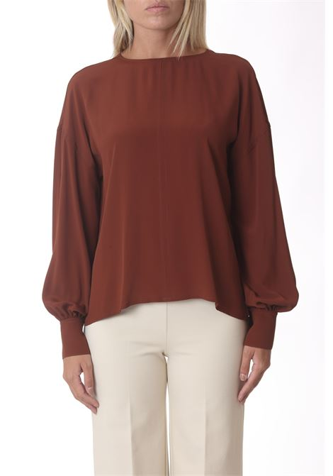 Blusa donna girocollo con manica ampia JUCCA | Bluse | J3412004259
