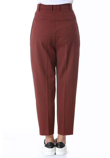 Pantalone donna a via alta a carota JUCCA | Pantaloni | J3414006259