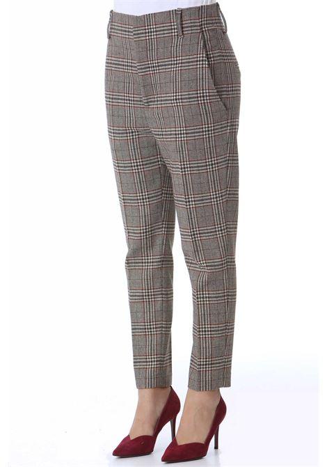 Pantalone donna a zampetta in principe di Galles JUCCA | Pantaloni | J3414026271