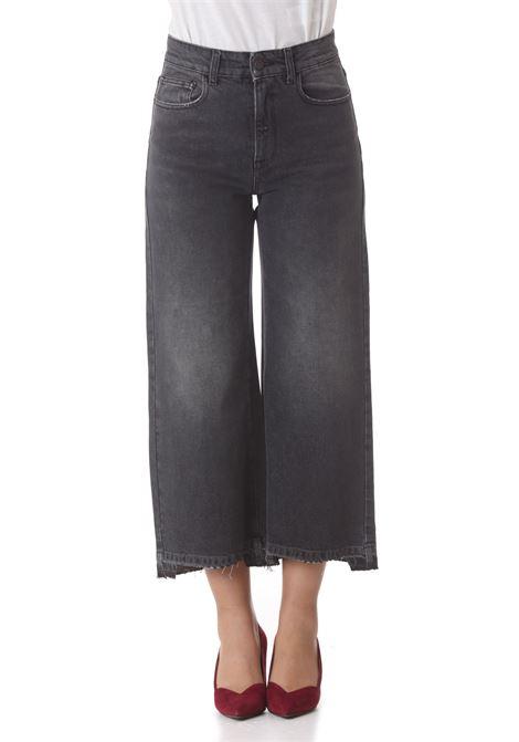 Jeans donna  cropped wide leg MANILA GRACE   Jeans   J417D1MZ005