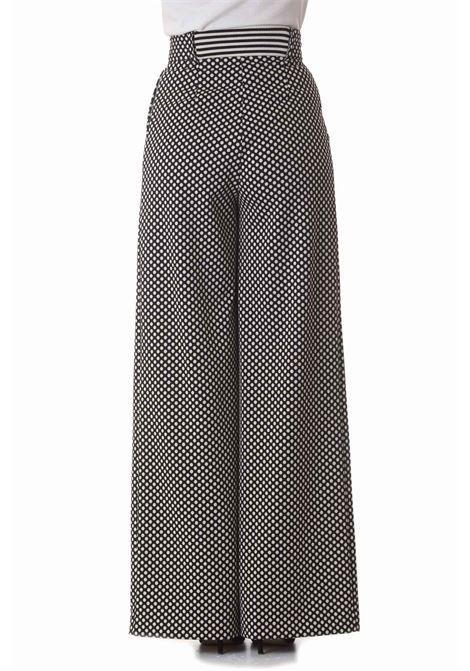 Pantalone donna a vita alta MANILA GRACE   Pantaloni   P124PJMA096