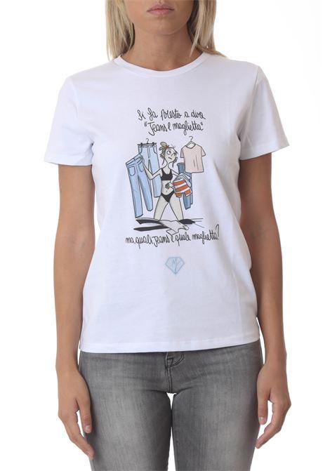 T-Shirt donna MANILA GRACE | T- Shirt | T498CUMA029