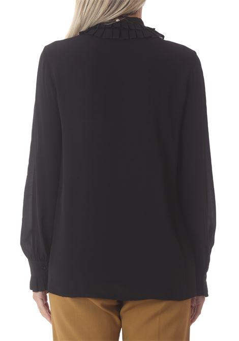 Camicia donna Creole in crepe PINKO | Camicie | 1G16F4-Y6ZVZ99