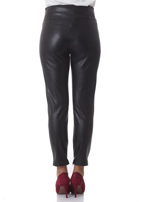 Pantalone donna in similpelle Campus PINKO | Pantaloni | 1G16F6-7105Z99