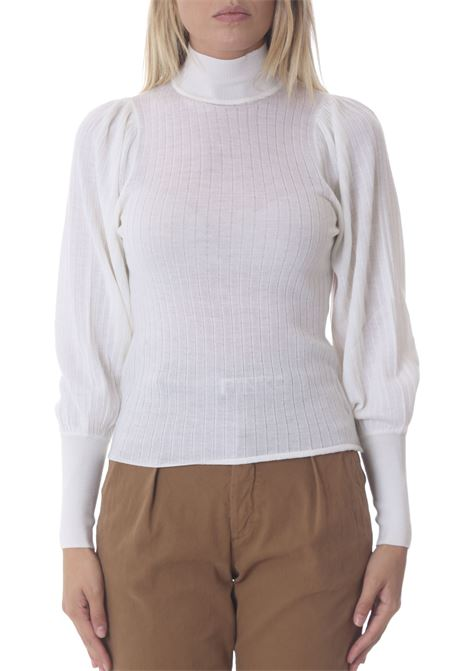 Lupetto donna a coste Maccarese PINKO | Maglie | 1G16H5-Y7GQZ06