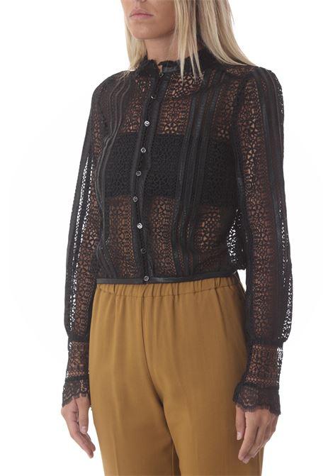 Camicia Laquiaca donna in Macramè PINKO | Camicie | 1G16MW-8588Z99