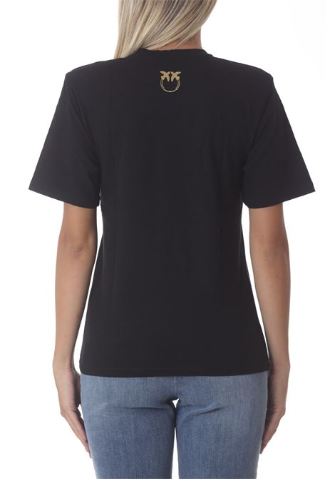 T-shirt donna in jearsey Tianeti PINKO | T- Shirt | 1G16UE-Y6K7Z99