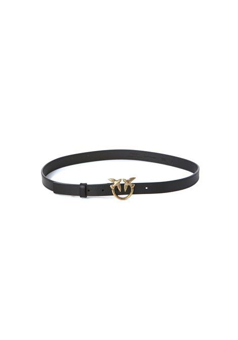Cintura donna Love Berry hips simply belt H2 PINKO | Cinture | 1H20X8-Y6XTZ99