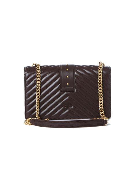 Borsa donna love classic icon v quilt 3 cl PINKO | Borse | 1P22BT-Y7FYR64