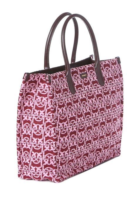 Borsa donna shopping love monogram PINKO | Borse | 1P22CK-Y7G2CS8
