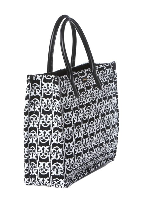 Borsa donna shopping love monogram PINKO | Borse | 1P22CK-Y7G2ZZ2