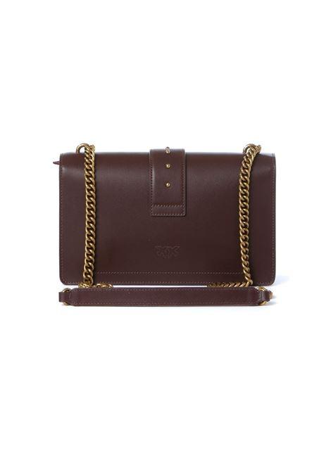 Borsa donna love classic icon simply 9 cl PINKO | Borse | 1P22GE-Y6XTR64