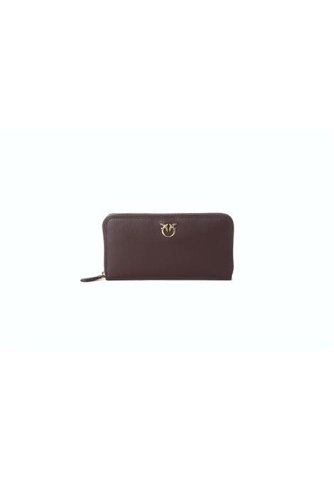 Portafoglio donna ryder wallet zip araund PINKO | Portafogli | 1P22GW-Y6XTR64
