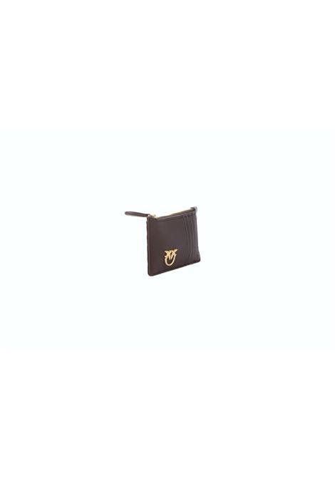Portafoglio donna Airone credit card holder PINKO | Portafogli | 1P22HA-Y7FYR64