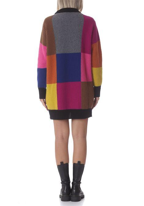 Maglia donna multicolor Carol SEMI COUTURE | Maglie | S1WG01BLK01