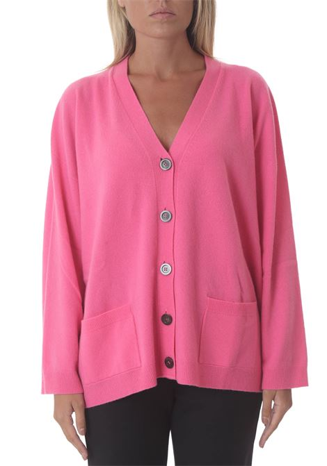 Cardigan donna misto cashmere Ines SEMI COUTURE | Maglie | Y1WG06G48-0