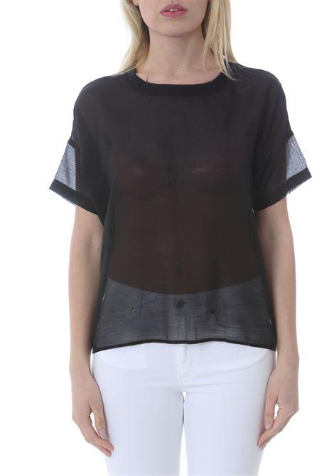 Blusa donna maniche corte ATTIC AND BARN | Bluse | ATBL018-AT130990