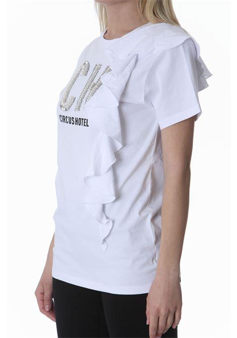 T-shirt donna con applicazione CIRCUS HOTEL | T-shirt | H1ST04A01-0