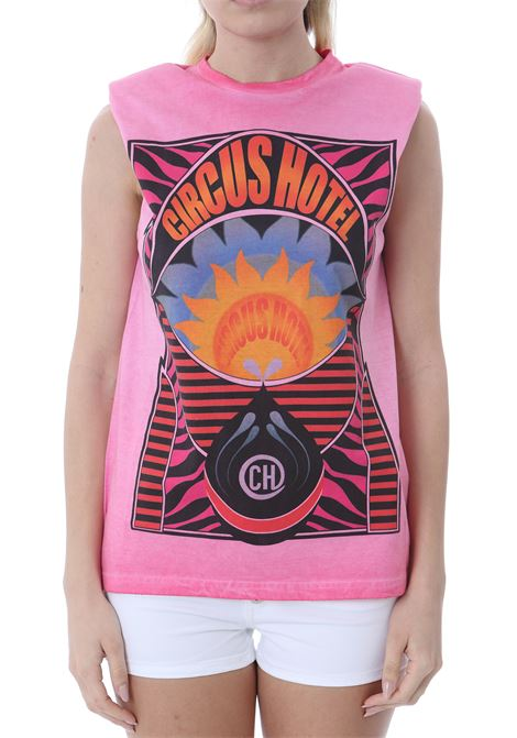 T-SHIRT IN COTONE CIRCUS HOTEL | T-shirt | H1ST11F80-0