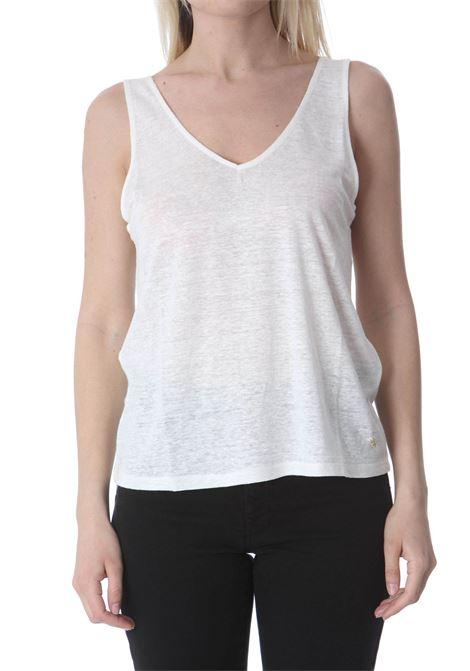 Canotta donna scollo a v DES PETIT HAUTS   T- Shirt   JANALI-1E21024202000