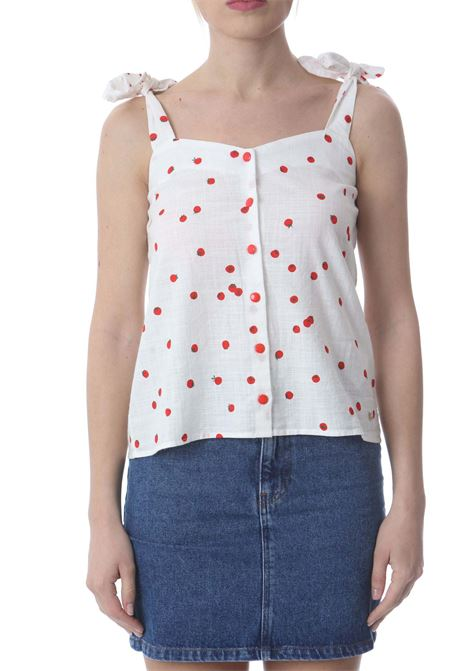 Top donna stampa Tomato DES PETIT HAUTS | T- Shirt | SOFIETTE-1E210442IM689