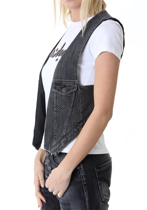GILET IN DENIM DON DUP | Gilet | DJ404DS0272BL8999